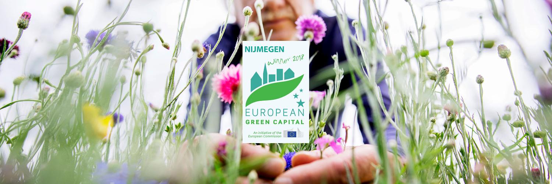 Nijmegen European Green Capital Meet en Greet special edition Follow the green track