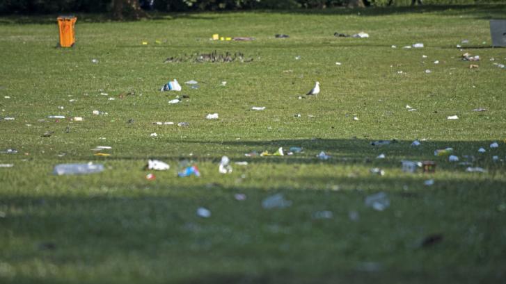 Duurzame evenementen; Afval scheiden evenementen