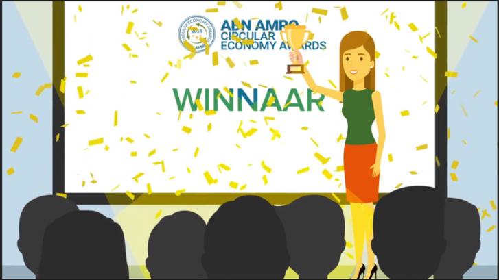 Regio Arnhem – Nijmegen Beste Circulaire Regio; Circular Economy Awards 2018, succes brings succes