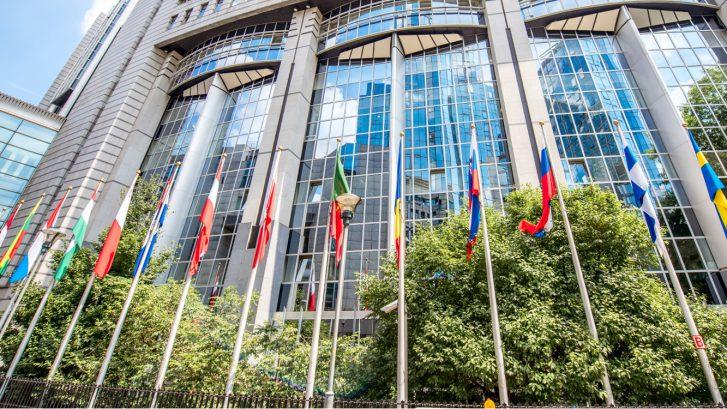corona europa; Bureau Brussel Europa Green Deal