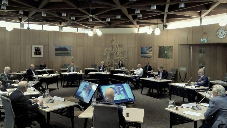 Boardvergadering 24 september 2020